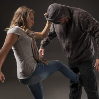 Teenage girl uses self defense skills to fight back
