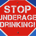 Sign -underaged drinking