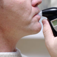 DUI Breathlyzer test