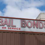 Sign that reads bail bonds