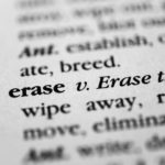 Erase definition in dictionary