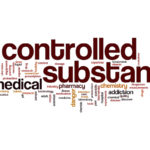 Controlled substance word cloud